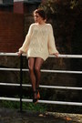 Vintage-cream-jumper-rocketdog-clogs