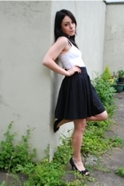 H&M top - h&m via ebay skirt - dune shoes - bay accessories