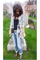 jacket - Primark top - belt - Ebay shoes - River Island jeans