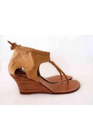 tan ELF LOCAL collection wedges