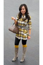 Nordstrom top - wwwBananaAncom bracelet - American Apparel tights - forever 21 s