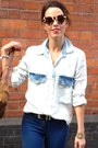 Denim-shirt-zara-shirt-urban-outfitters-sunglasses-carvela-flats