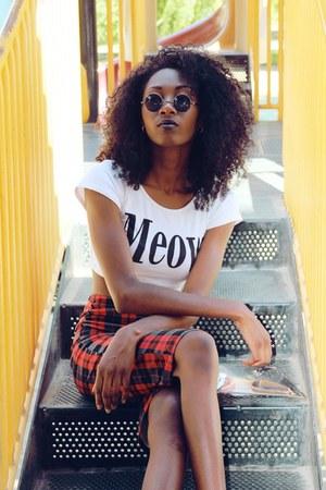 San Souci skirt - shirt - Forever 21 shirt