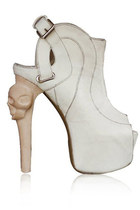 white beautiful kermit tesoro boots
