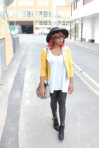 next bag - Toga Archives boots - hat H&M hat - christian dior sunglasses