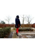 H&M pants - Zara jacket - H&M purse - Bershka top - Newlook wedges