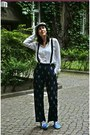 Heather-gray-h-m-hat-white-zara-shirt-navy-h-m-pants-black-h-m-accessories