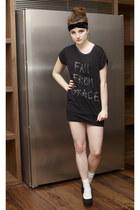 Topshop t-shirt - asos wedges