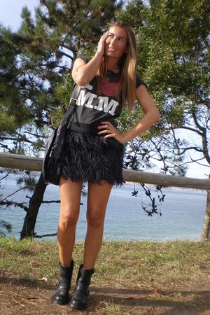 Zara skirt - sendra boots