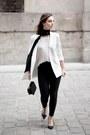 Black-stradivarius-bag-black-zara-heels