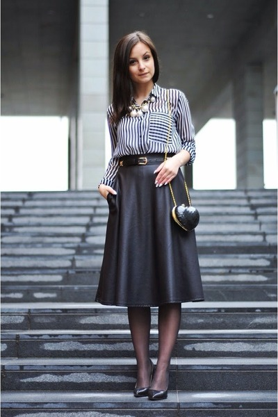Primark bag - Zara blouse - River Island skirt