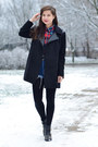 Stradivarius-coat-checkered-atmosphere-shirt-secondhand-tights-h-m-tights