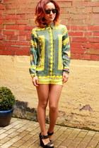 Zara shirt - asos shoes - Zara shorts