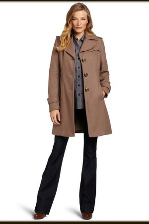 Kenneth Cole coat - colour smoke Kenneth Cole coat
