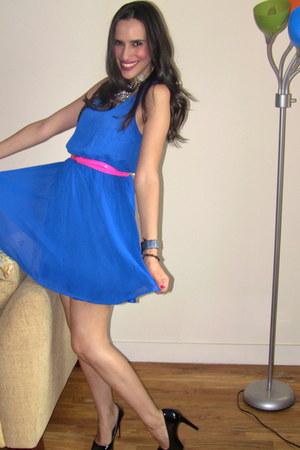 blue H& dress