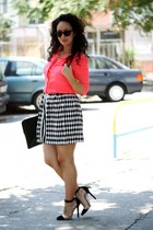 Moja shirt - Christian Louboutin shoes - Esprit sunglasses - Moja skirt