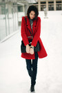 Zara-boots-persunmall-coat-h-m-jeans-persunmall-sweater-vintage-bag
