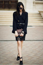 Shoes-dress-blazer-bag-skirt