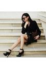 Shoes-dress-blazer-bag-skirt