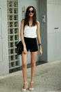 Shorts-sandals-top-watch