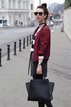 bomber jacket dresslily jacket - stripes Terranova sweater
