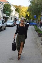 shein skirt - zaful sandals