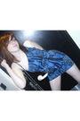 Blue-newlook-dress
