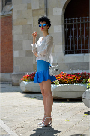 Chicwish skirt - zeroUV sunglasses