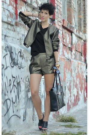 H&amp;M Trend jacket - Marni for H&amp;M shoes - wwwvj-stylecom bag - H&amp;M Trend shorts