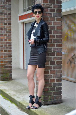 zalando shoes - tideshe jacket - giantvintage sunglasses