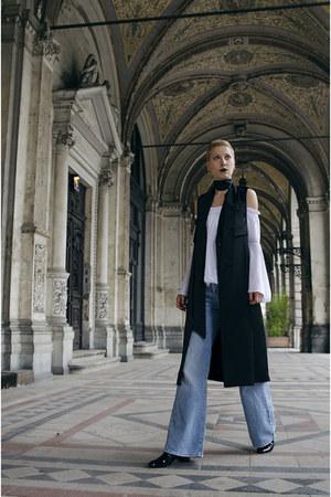 Zara jeans - H&M vest