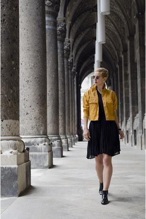 shein jacket - shein skirt