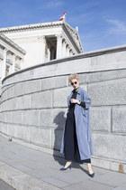 Sheinside coat - H&M Trend panties