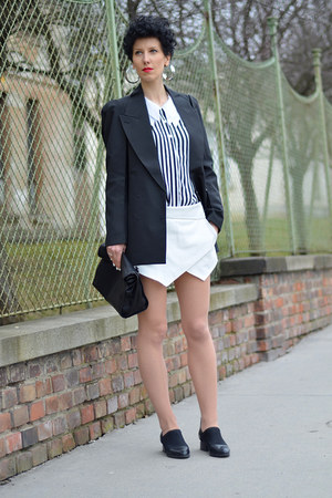 Maison Martin Margiela for H&amp;M blazer - Zara bag - Zara shorts