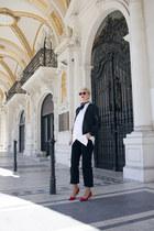 Sheinside jacket - Zara jeans
