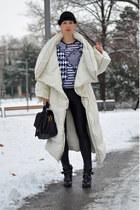 H&M hat - Zara shoes - Maison Martin Margiela for H&M coat - H&M shirt