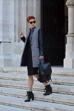 Sheinside coat - OASAP bag