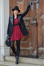 Choies-boots-sheinside-coat-nowistyle-bag