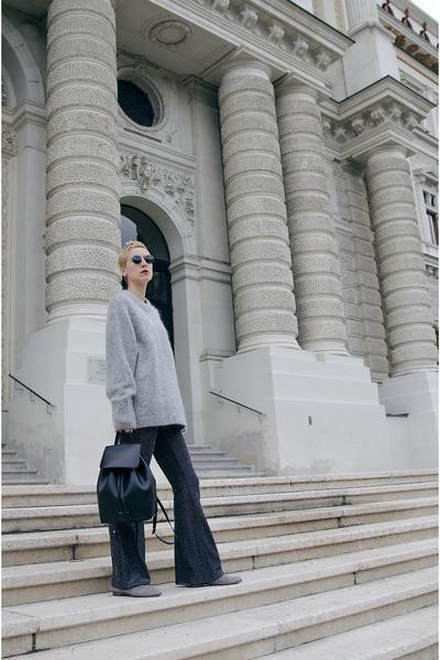 Mansur Gavriel bag - H&M Trend sweater - H&M Trend pants
