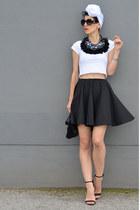 Lookbook Store necklace - H&M shoes - Zara bag - zeroUV sunglasses