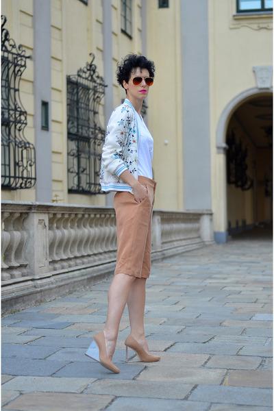 Zara jacket - Maison Martin Margiela for H&M shoes - Zara shorts