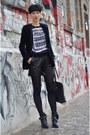 Zara-boots-h-m-trend-blazer-ahaishopping-shorts-h-m-trend-blouse