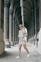 H&M shoes - H&M Trend jacket - H&M skirt