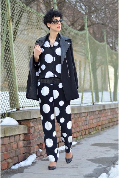 PERSUNMALL shoes - Sheinside coat - zeroUV sunglasses