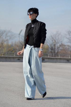 H&M jacket - Maison Martin Margiela with H&M jeans