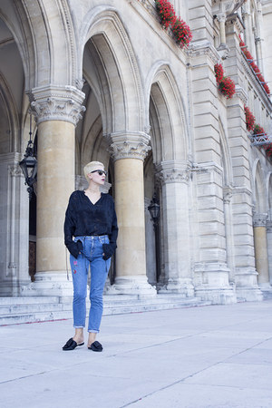 H&M shoes - Primark jeans - H&M Studio blouse
