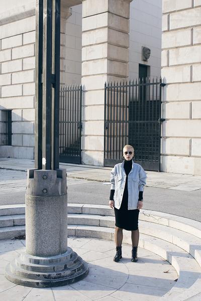 H&M jacket - Zara dress