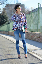 H&M jeans - H&M Trend jacket - zeroUV sunglasses