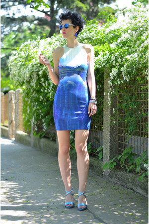 H&M shoes - H&M dress - zeroUV sunglasses