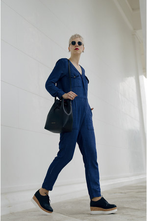 Mansur Gavriel bag - H&M jeans